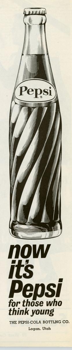 Pepsi advertisement, 1962