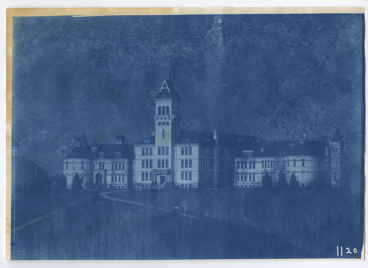 1896-1916 Agricultural College of Utah Cyanotype 3