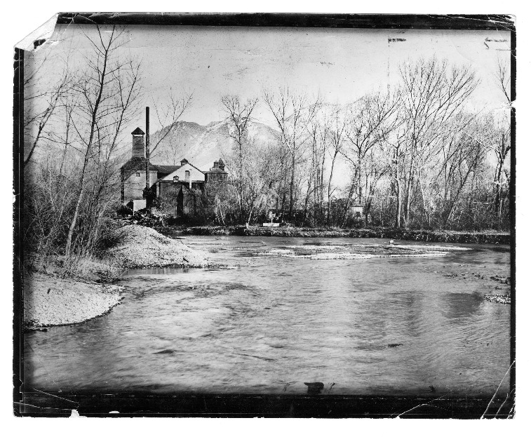Original Becker Plant on the Ogden River, c. 1893