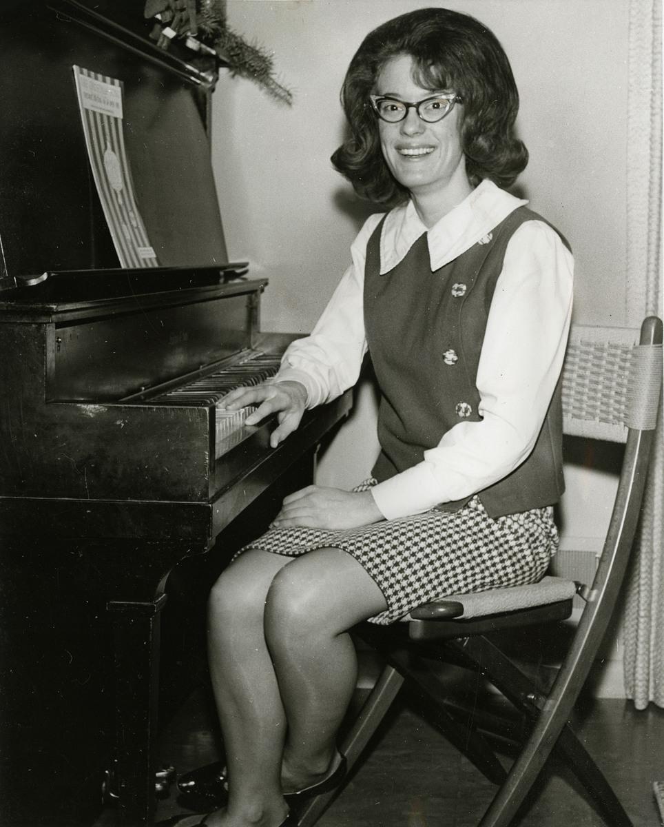 Adonna Watkins, 1967.