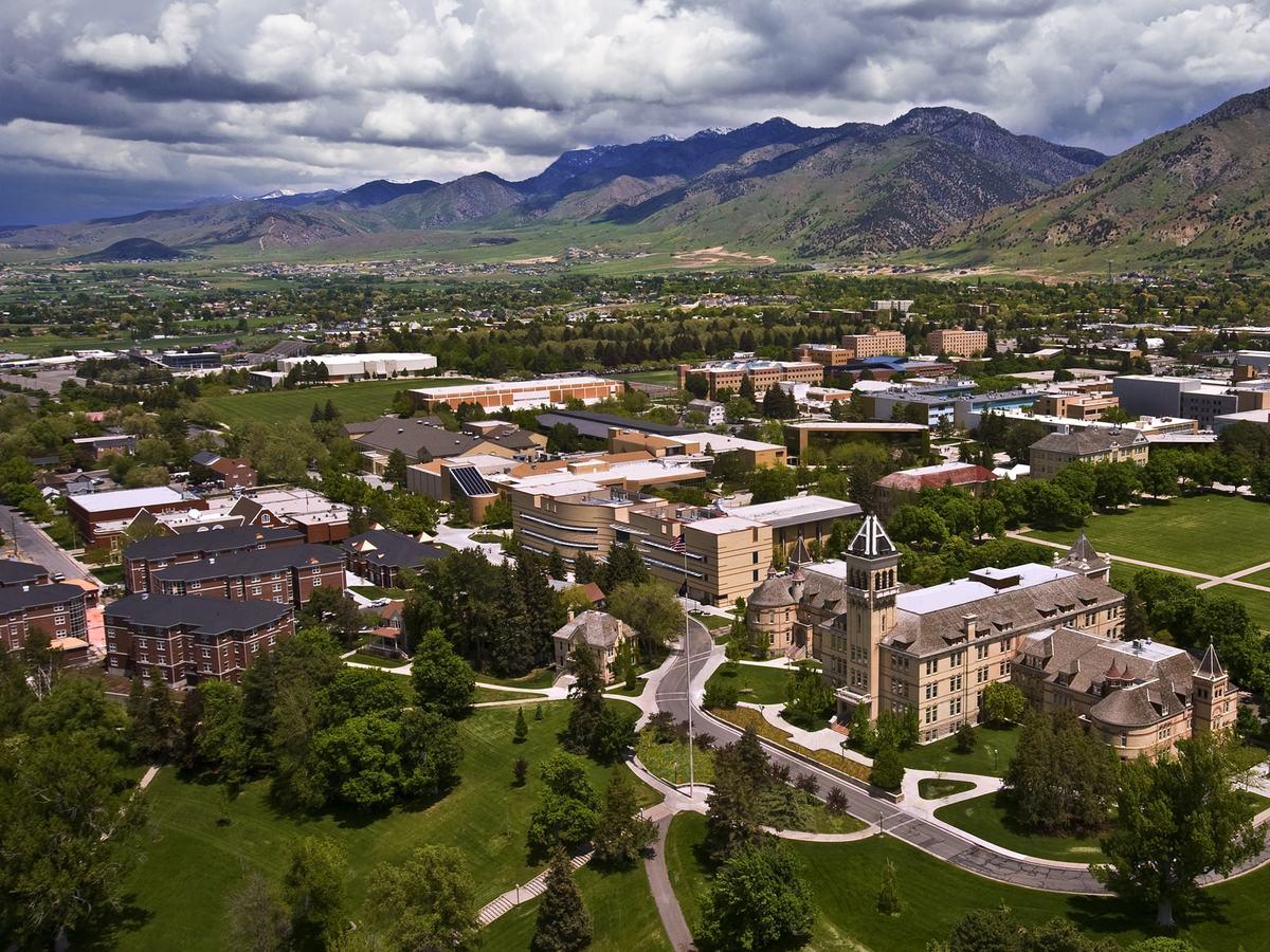 Utah State University Campus Aerial, c. 2010