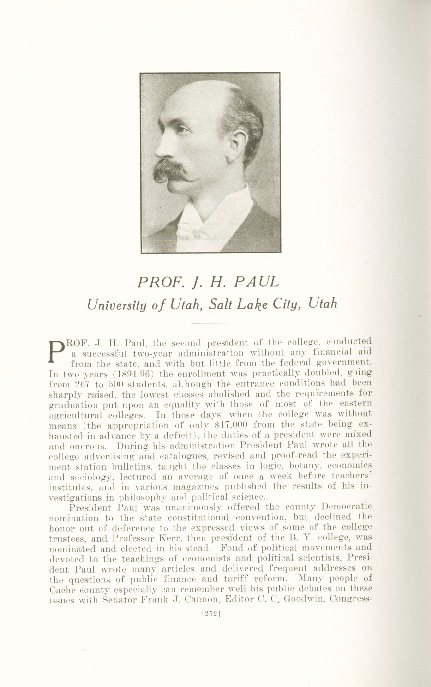 1909 A.C.U. Graduate Yearbook, Page 252