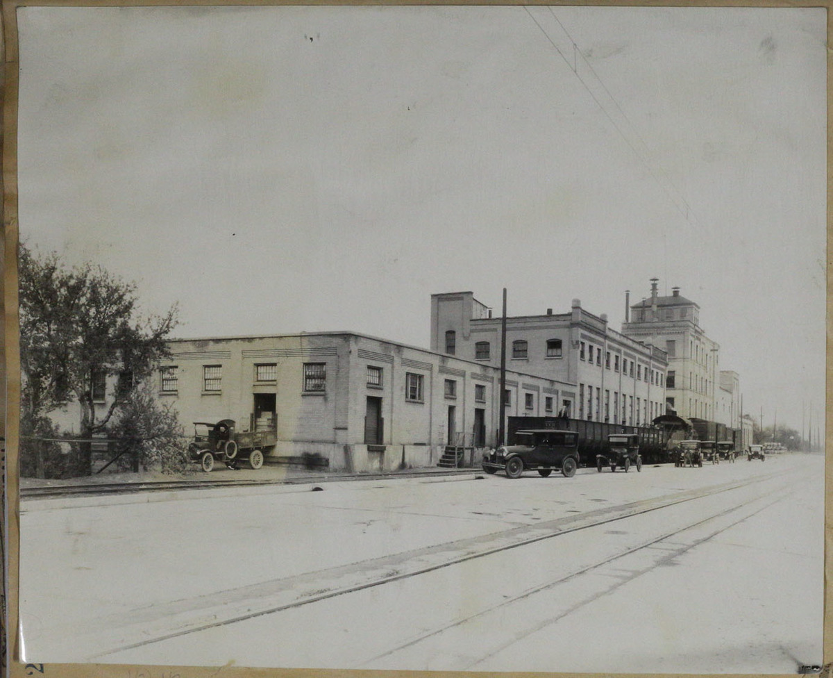 Street View of the New Becker Brewing and Malting Company