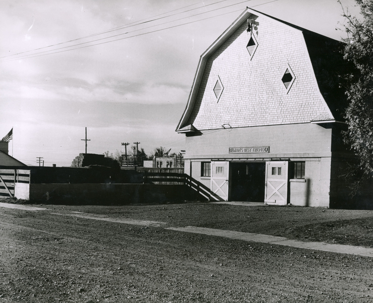 Horse Barn from the southeast, 1948