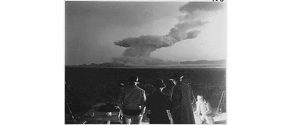 atomic detonation