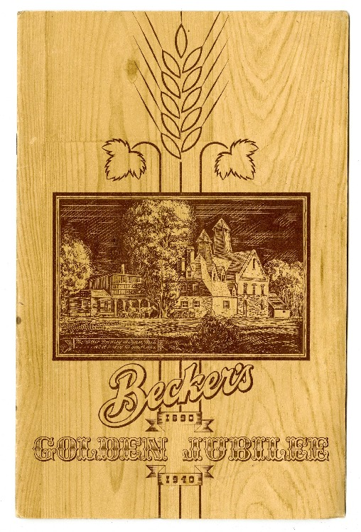 Becker's Golden Jubilee Booklet, 1940