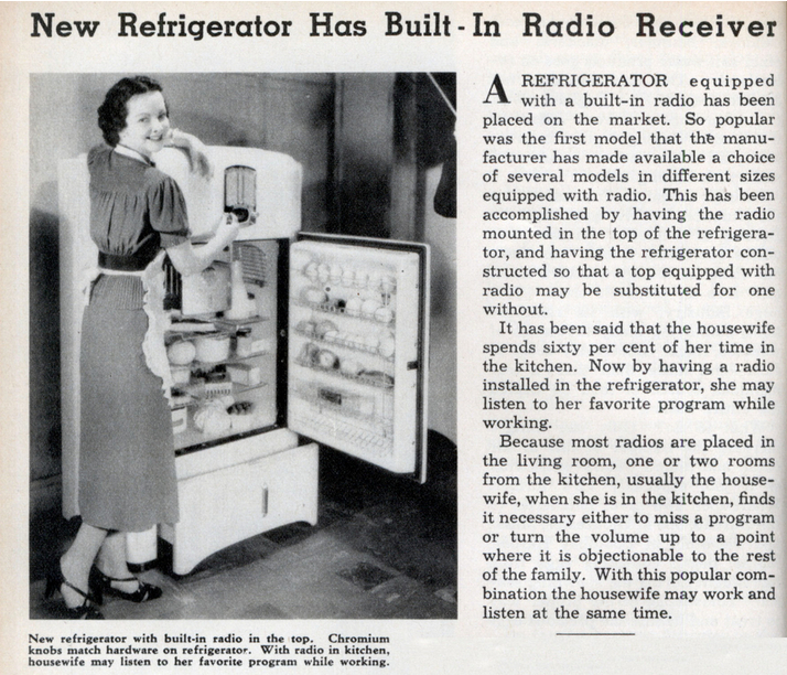 HONRS16group2-1930sFridgeandRadio