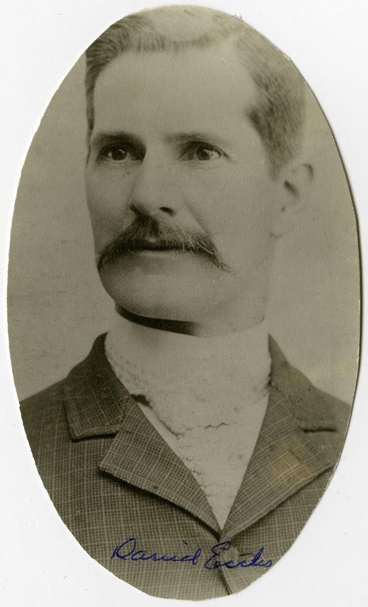 David Eccles, 1900<br />