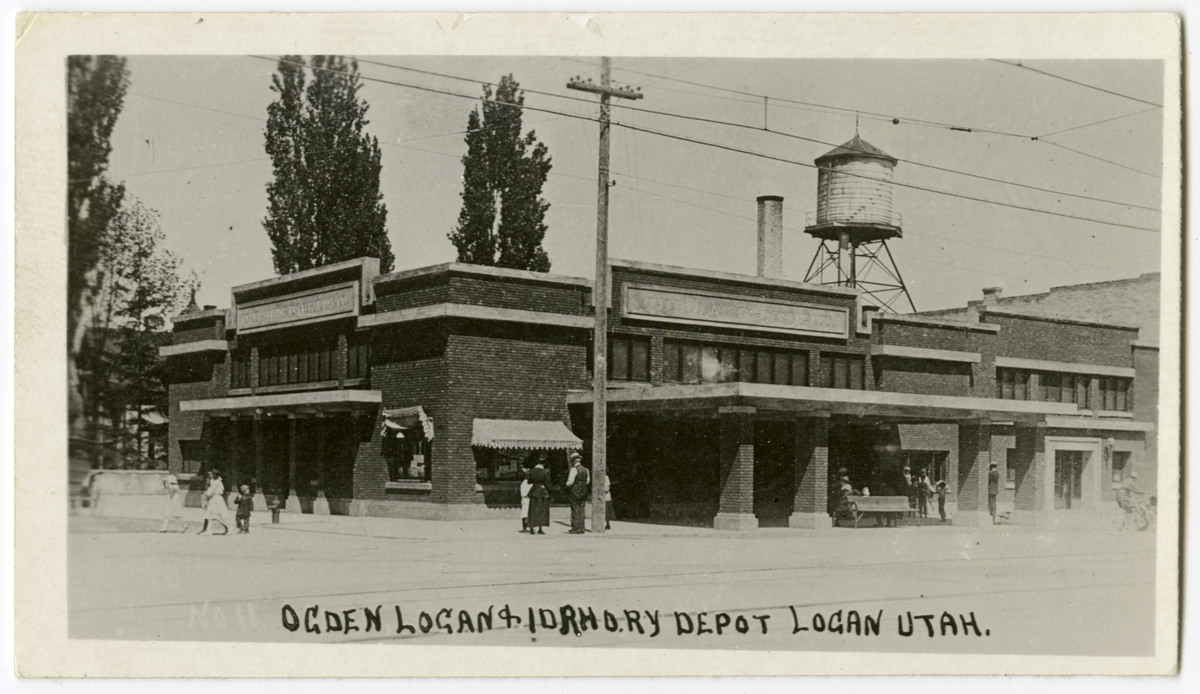 Ogden, Logan & Idaho Railway Company Depot, Logan<br />