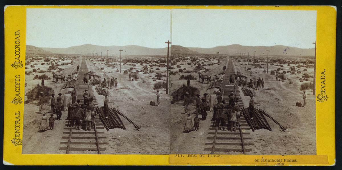 """End of Track, on Humboldt Plains"""