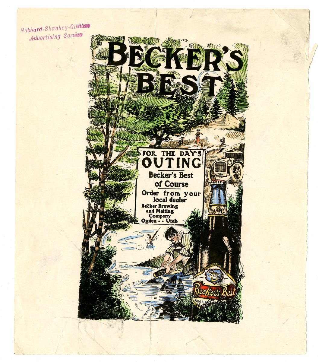 Advertisement for Becker's Best (20 of 29), c. 1915