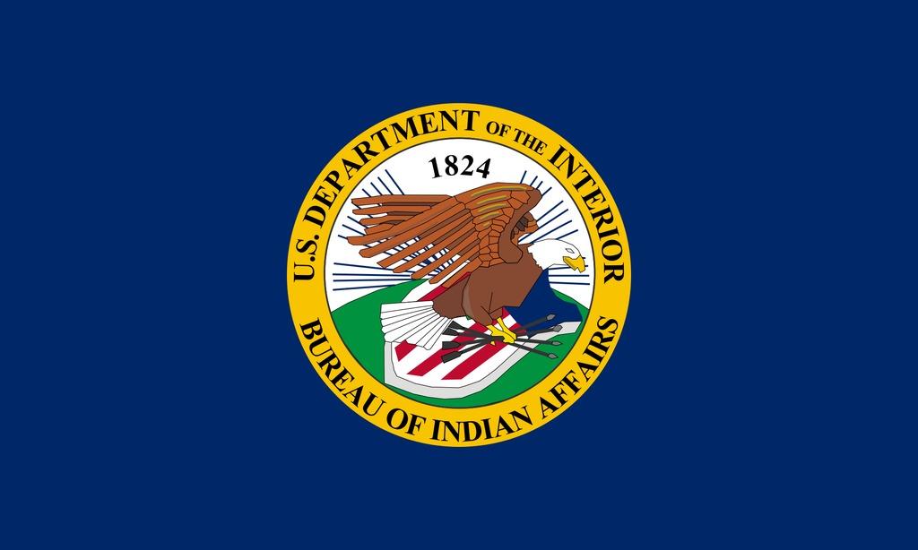 Flag of the United States' Bureau of Indian Affairs