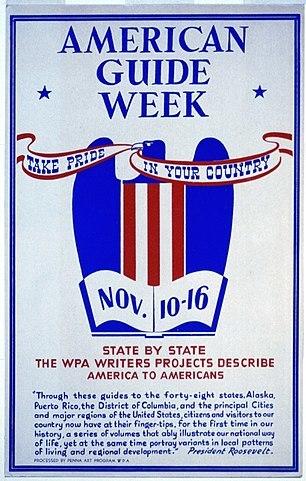 American Guide Week Poster