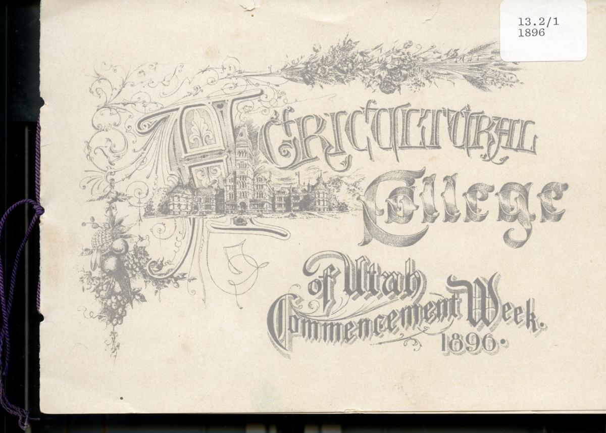 1896 UAC Commencement Invitation
