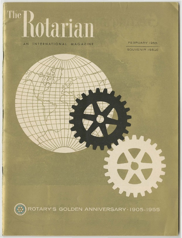 The Rotarian: Rotary's Golden Anniversary Edition, 1955