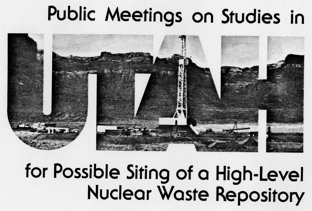 Public Meetings on Studies in Utah