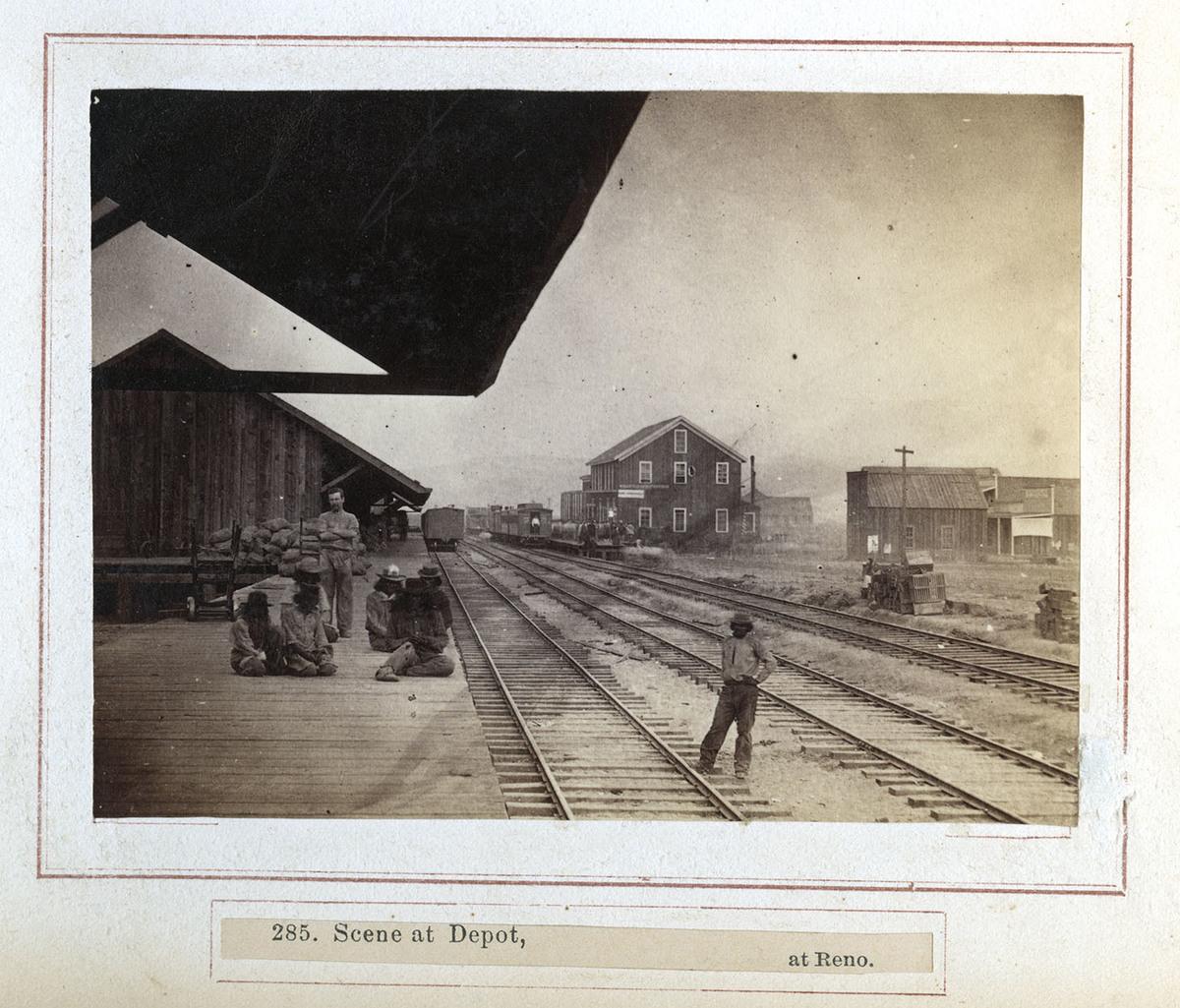 """""""Scene At Depot"""""""