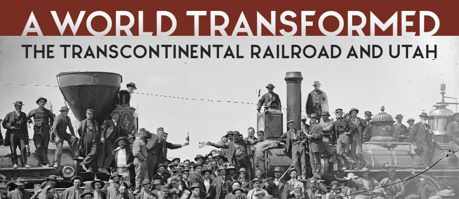 Transcontinental Railroad Exhibit Graphic