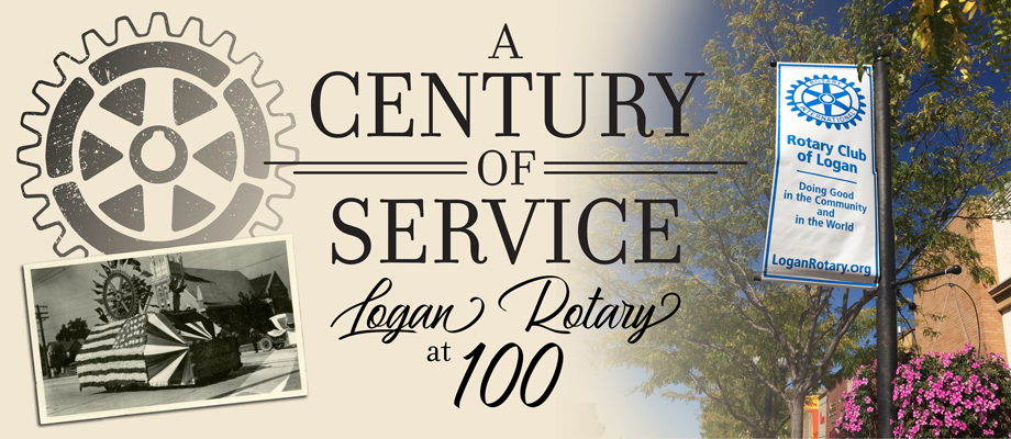 Logan Rotary-100 Years Summary Page Graphic