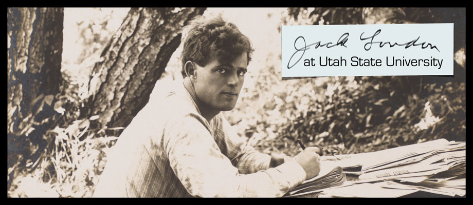 Jack London Portrait
