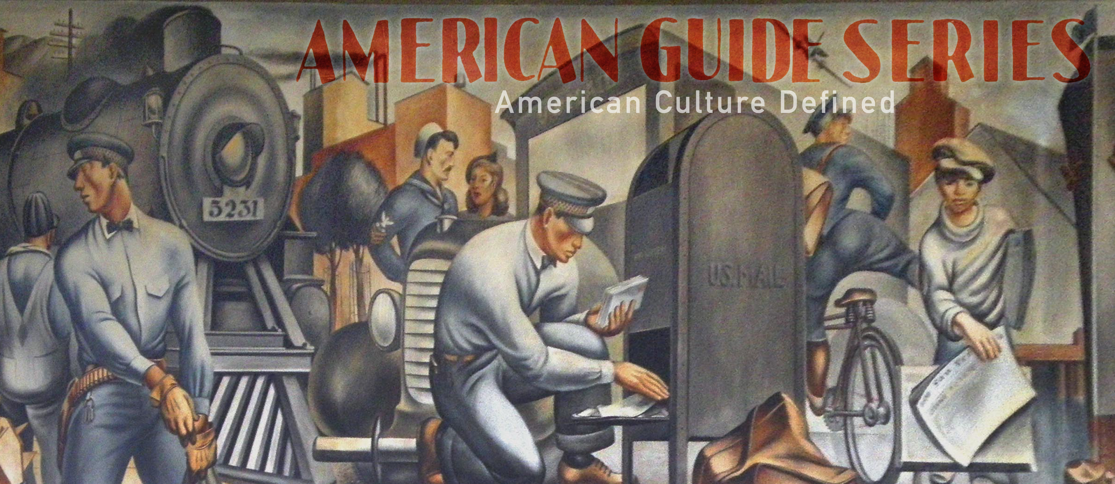 The American Guide graphic