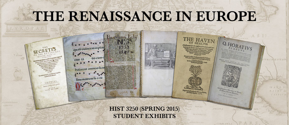 HIST 3250 Spring 2015 Graphic