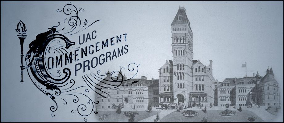 UAC Commencement Programs