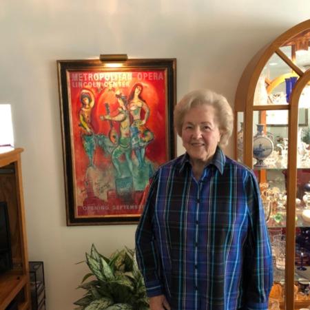 Photograph of Peggy Tueller, April 23, 2018