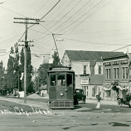 Streetcar Trolley #22 in Brigham City, Utah<br />
