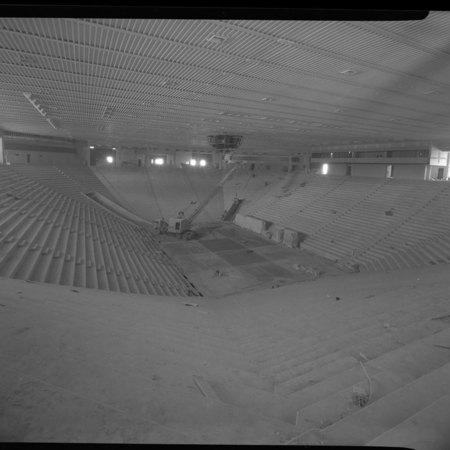 Spectrum Interior Under Construction, c. 1969
