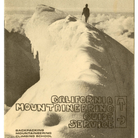 California Mountaineering Guide Service, 1965