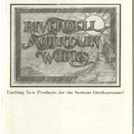 Rivendell Mountain Works, Winter 1978-1979