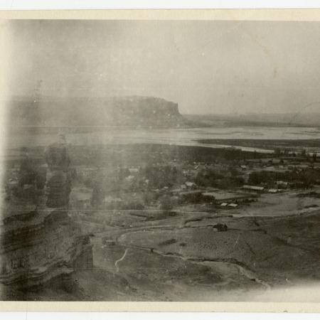 Scenic view of Bluff, Utah