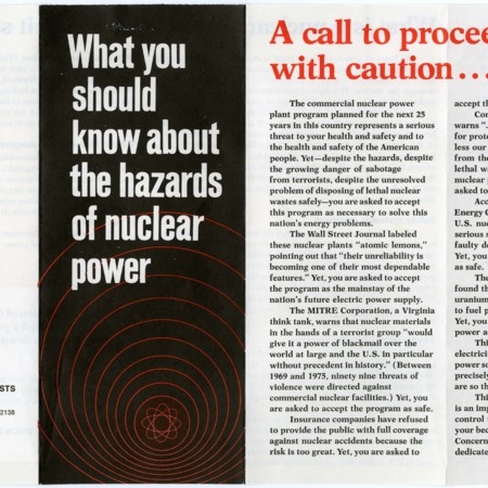 Union of Concerned Scientists: What You Should Know About the Hazards of Nuclear Power