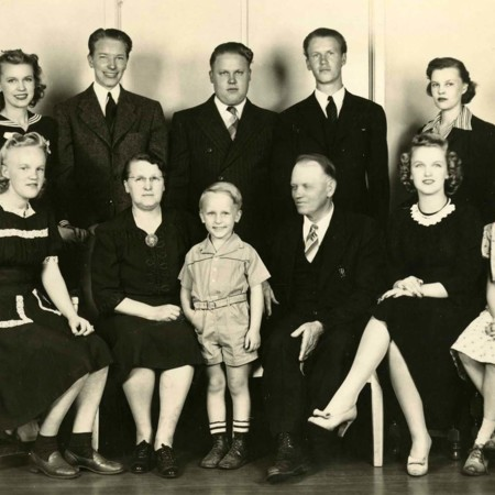May Swenson and her family