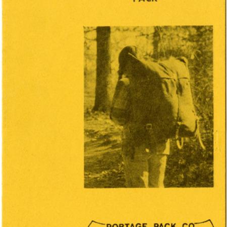 Portage Pack, undated