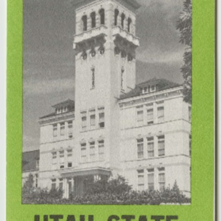 Utah State University Campus Map and Guide, 1966