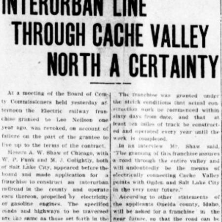 Logan_Republican_1911_09_02_Interurban_Line_Through_Cache_Valley_North_a_Certainty.pdf