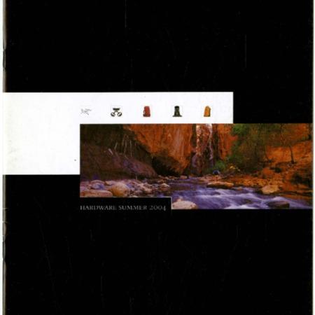 Arc'teryx, Hardware Summer 2004