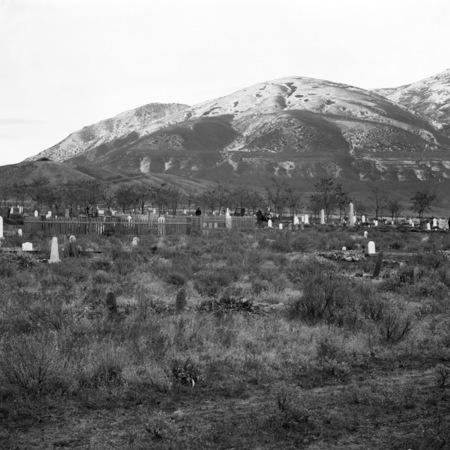 Cemetery at Brigham City, Utah