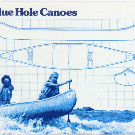 Blue Hole Canoe, 1982