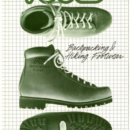 Asolo Backpacking & Hiking Footwear, 1981