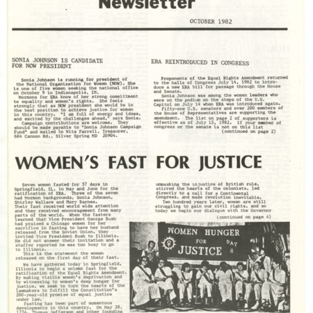 Women's Fast For Justice