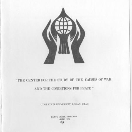 War and Peace Center Symbol