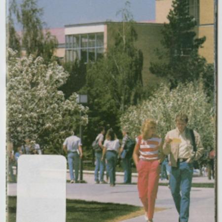 Utah State University Campus Map and Guide, 1989