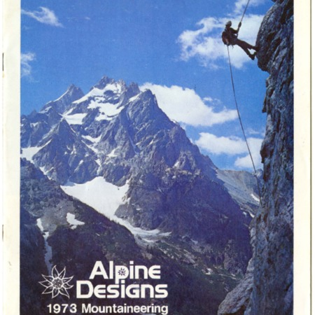 Alpine Designs, 1973 Mountaineering & Backpacking Gear