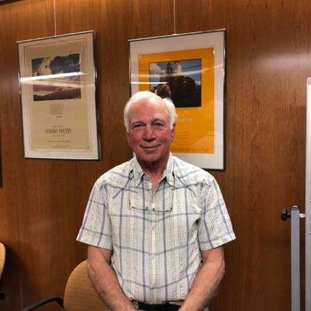 Photograph of Frederick Berthrong, April 26, 2018