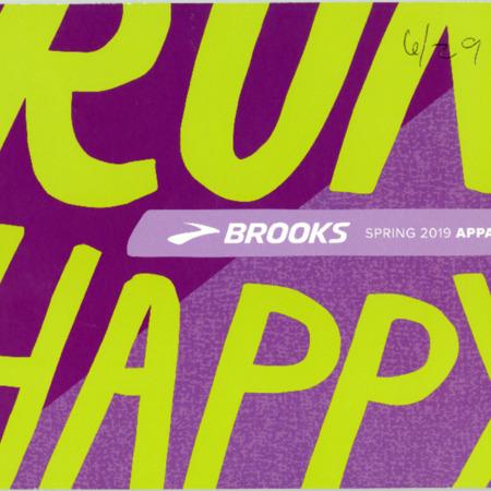 Brooks, Apparel Spring 2019