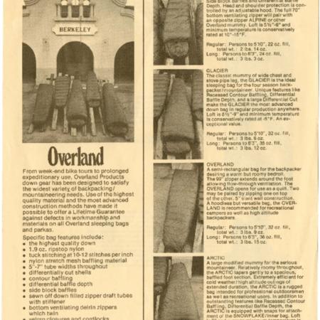 Overland, undated