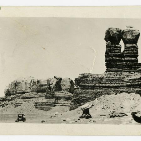 Twin Rocks of Bluff, Utah